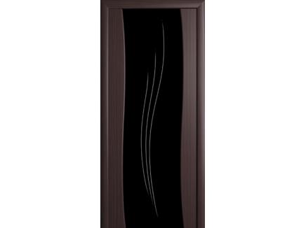 Двери межкомнатные Cordondoor Триплекс Рио Венге Триплекс черный