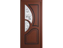 Двери межкомнатные Cordondoor Фрезерованные двери Велес Шоколад ст.Велес светлое