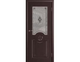 Двери межкомнатные Cordondoor Фрезерованные двери Доминика Венге ст.светлое УФ фотопечать