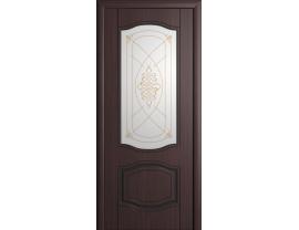 Двери межкомнатные Cordondoor Фрезерованные двери Мария Венге ст.Шелкография