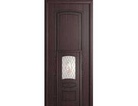 Двери межкомнатные Cordondoor Фрезерованные двери Милена Венге ст.Шелкография