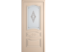 Двери межкомнатные Cordondoor Фрезерованные двери Офелия Беленый дуб ст.Офелия светлое