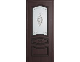 Двери межкомнатные Cordondoor Фрезерованные двери Офелия Венге ст.Офелия светлое