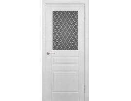 Двери межкомнатные Cordondoor Фрезерованные двери Султан Дуб Эмаль ст. УФ фотопечать Ромб