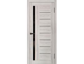 Двери межкомнатные Cordondoor Экошпон Белонна Ривьера Айс ст.черный лак