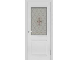 Двери межкомнатные Cordondoor Экошпон Калипсо Аляска ст. Сатин узор
