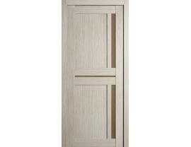Двери межкомнатные Cordondoor Экошпон Неаполь Капучино ст.Бронза