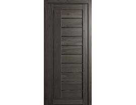 Двери межкомнатные Cordondoor Экошпон Турин 7 Шале графит ст. Черный лак