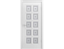 Двери межкомнатные Cordondoor Эмаль Белини Молини Белая эмаль ст. Шелкография