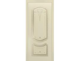 Двери межкомнатные Cordondoor Эмаль СОЛО NEW B3 ДГ Эмаль Слоновая кость патина белое золото