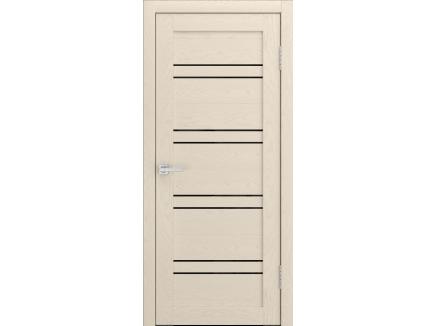 Двери межкомнатные Cordondoor Soft touch Канна 54 Софт айвори ст. черный лак