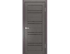 Двери межкомнатные Cordondoor Soft touch Канна 54 Софт графит ст. черный лак