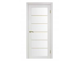 Двери межкомнатные Optima Porte 501 АСС мат зол ясень перламутровый