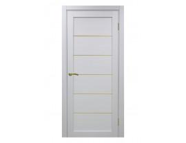 Двери межкомнатные Optima Porte 501.1 АПП мат зол белый монохром
