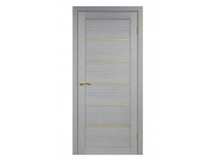 Двери межкомнатные Optima Porte 501.1 АПП мат зол дуб серый