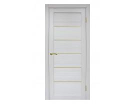 Двери межкомнатные Optima Porte 501.1 АПП мат зол ясень серебристый