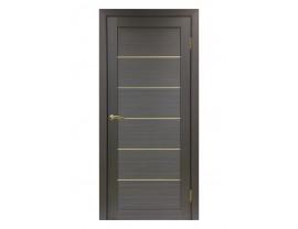 Двери межкомнатные Optima Porte 501.1 АПП мат зол. венге