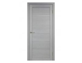 Двери межкомнатные Optima Porte 501.1 АПП мат хром дуб серый