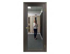 Двери межкомнатные Optima Porte 501.1 зеркало венге