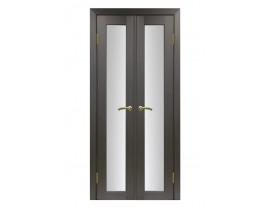 Двери межкомнатные Optima Porte 501.2  40+40 венге