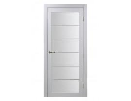 Двери межкомнатные Optima Porte 501.2 асс мат хр белый монохром