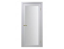 Двери межкомнатные Optima Porte 501.2 белый монохром