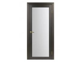 Двери межкомнатные Optima Porte 501.2 мателюкс венге