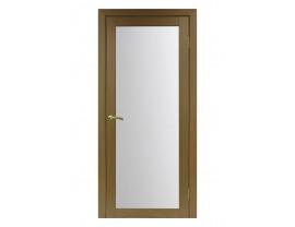 Двери межкомнатные Optima Porte 501.2 мателюкс орех классик