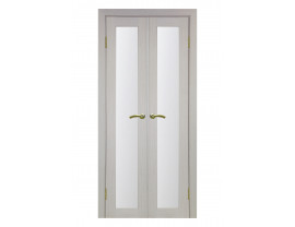 Двери межкомнатные Optima Porte 501.40+40 дуб белёный