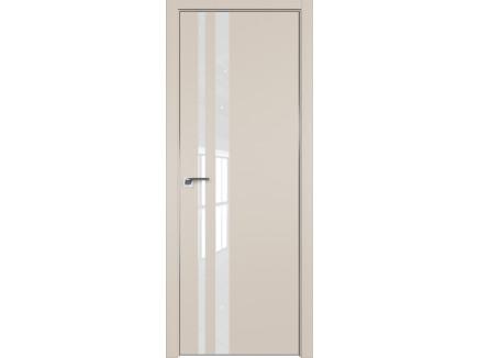 Двери межкомнатные Profil Doors 16E Санд лак классик CHROME MAT