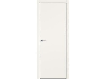 Двери межкомнатные Profil Doors 1E Дарквайт CHROME MAT