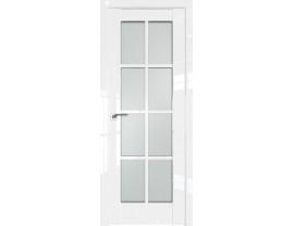 Двери межкомнатные Profil Doors 101L Белый люкс стекло матовое