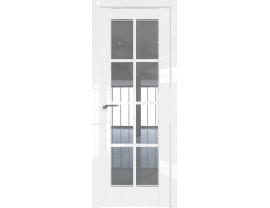 Двери межкомнатные Profil Doors 101L Белый люкс стекло прозрачное