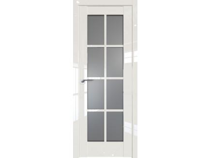 Двери межкомнатные Profil Doors 101L Магнолия люкс стекло графит