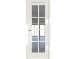 Двери межкомнатные Profil Doors 101L Магнолия люкс стекло прозрачное