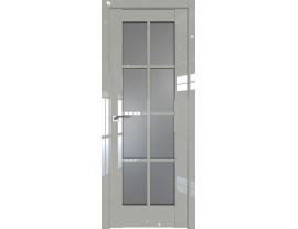 Двери межкомнатные Profil Doors 101L галька люкс стекло графит