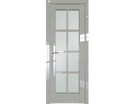 Двери межкомнатные Profil Doors 101L галька люкс стекло матовое