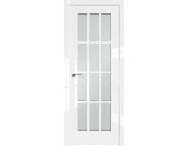 Двери межкомнатные Profil Doors 102L Белый люкс стекло матовое