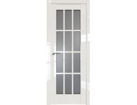 Двери межкомнатные Profil Doors 102L Магнолия люкс стекло графит