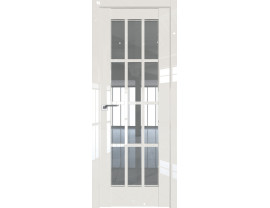 Двери межкомнатные Profil Doors 102L Магнолия люкс стекло прозрачное