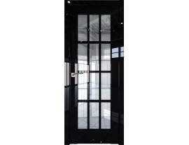 Двери межкомнатные Profil Doors 102L Чёрный люкс прозрачное
