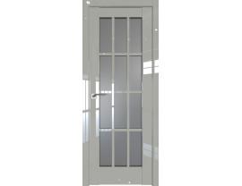 Двери межкомнатные Profil Doors 102L галька люкс стекло графит