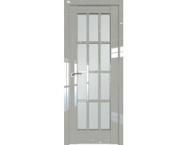 Двери межкомнатные Profil Doors 102L галька люкс стекло матовое