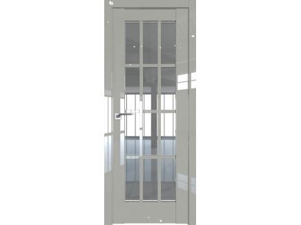 Двери межкомнатные Profil Doors 102L галька люкс стекло прозрачное