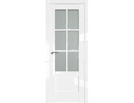 Двери межкомнатные Profil Doors 103L Белый люкс стекло матовое