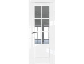 Двери межкомнатные Profil Doors 103L Белый люкс стекло прозрачное