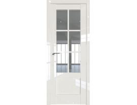 Двери межкомнатные Profil Doors 103L Магнолия люкс стекло прозрачное
