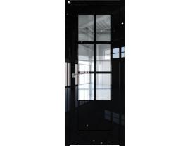 Двери межкомнатные Profil Doors 103L Чёрный люкс прозрачное