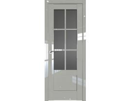 Двери межкомнатные Profil Doors 103L галька люкс стекло графит