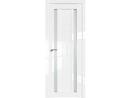Двери межкомнатные Profil Doors 15L Белый люкс стекло матовое